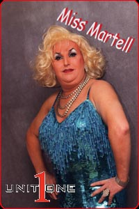 Miss Martell - Drag Vocalist & DJ from Manchester's Unit One Entertainment - Tele 0161 788 8444
