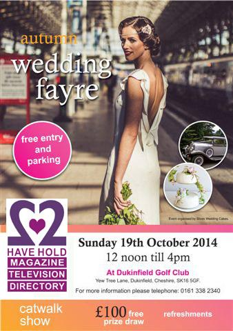 Dukinfield Golf Club Wedding Fair - 19th October 2014