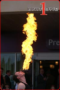 Fire Eaters - Unit One Entertainment