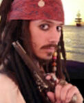Captain Jack Sparrow Johnny Depp Look-a-like