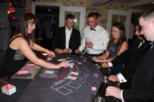 Casino Royale - Black Jack Table - www.UnitOneEntertainment.co.uk